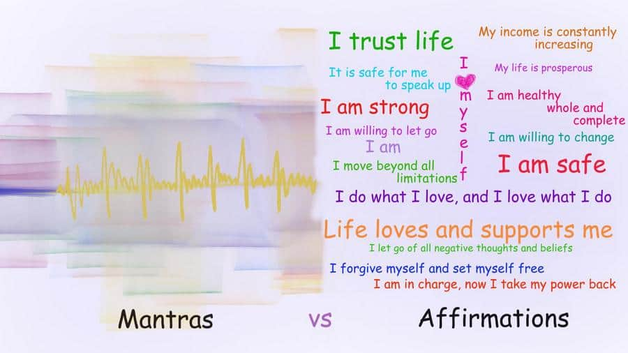 Difference Between Mantras and Affirmations